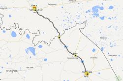 150-км участок  трассы М38 Павлодар-Омск  станет платным