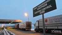 Перевозчики из Украины не могут въехать в Россию через Белоруссию