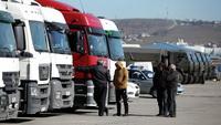 Цена за проезд грузовиков по Керченской паромной будет снижена