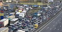 Запрет движения грузовиков на МКАД днем